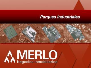 Parques Industriales