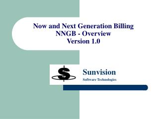 Now and Next Generation Billing NNGB - Overview Version 1.0