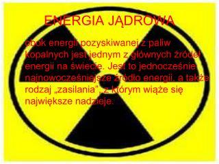 ENERGIA J?DROWA