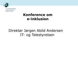 Konference om  e-inklusion
