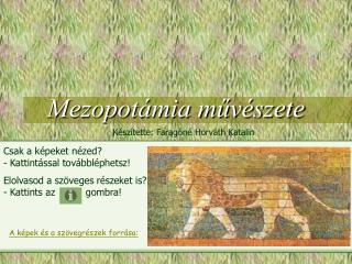 Mezopotámia művészete