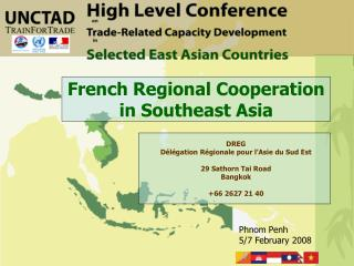 French Regional Cooperation in Southeast Asia