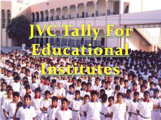 JVC Tally For Educational  Institutes