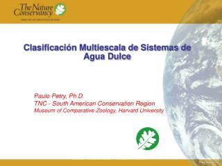 Clasificaci n Multiescala de Sistemas de Agua Dulce