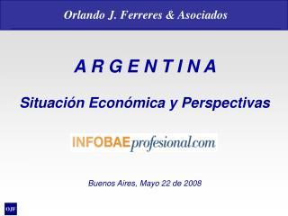 A R G E N T I N A Situación Económica y Perspectivas Buenos Aires, Mayo 22 de 2008