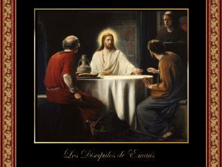 Sintiéndolos desconsolados, les explicó, basándose en las Escrituras,