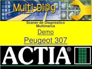 Scaner de Diagn stico Multimarca Demo Peugeot 307