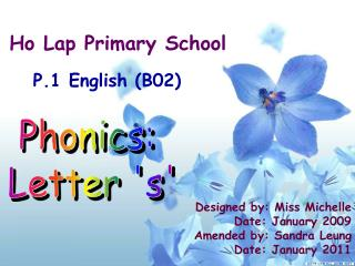 Ho Lap Primary School