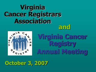 Virginia  Cancer Registrars  Association