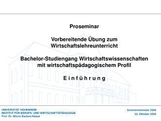 Überblick 1. Sitzung