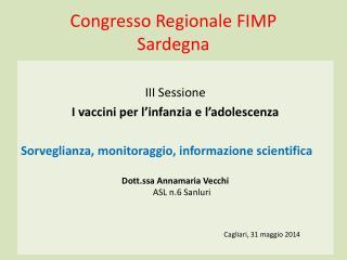 Congresso Regionale FIMP  Sardegna