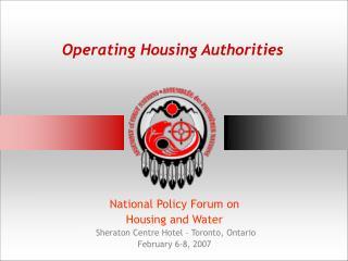 Operating Housing Authorities