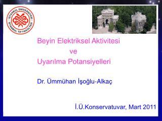 Prof.Dr. Ümmühan İşoğlu-Alkaç Doktora Dersi 9 Kasım 2007