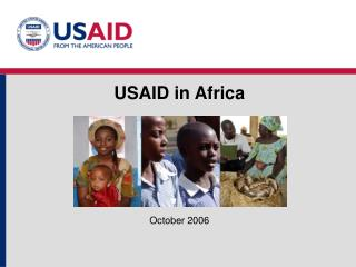 USAID in Africa October 2006