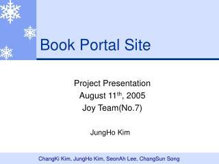 Book Portal Site