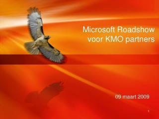 Microsoft  Roadshow voor KMO partners
