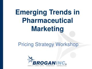 Emerging Trends in Pharmaceutical Marketing