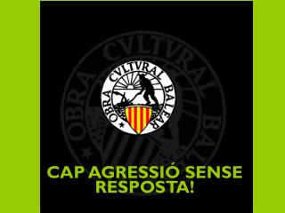 CAP AGRESSIÓ SENSE RESPOSTA!