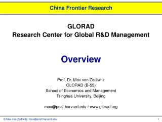 China Frontier Research