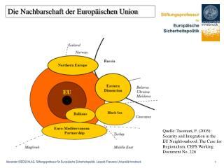 Die Nachbarschaft der Europäischen Union