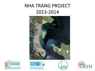 NHA TRANG PROJECT 2013-2014