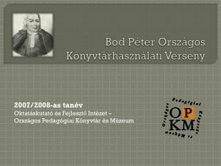 Bod  Péter Országos Könyvtárhasználati Verseny