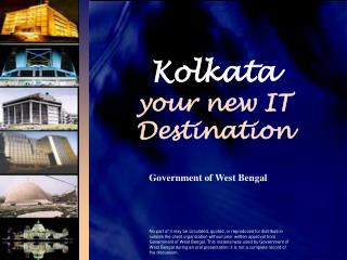 Kolkata your new IT Destination