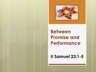 Between Promise and Performance