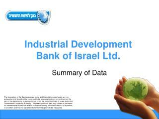 Industrial Development Bank of Israel Ltd.