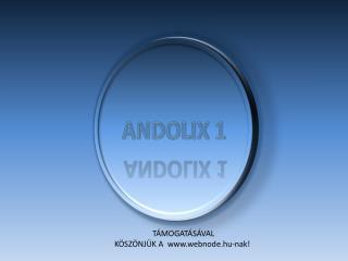 ANDOLIX 1