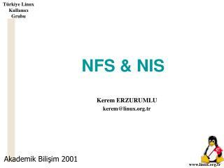 NFS & NIS