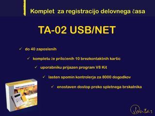 TA-02 USB/NET
