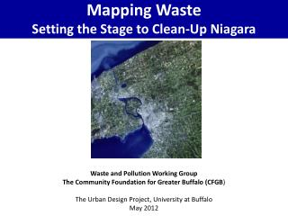 Mapping Waste Setting the Stage to Clean-Up Niagara