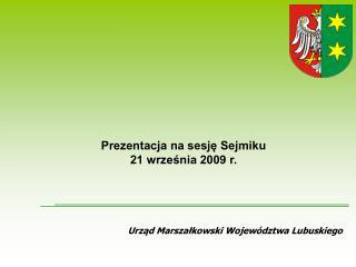 Urząd Marszałkowski Województwa Lubuskiego