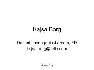 Kajsa Borg