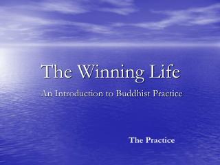 The Winning Life