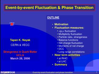 Event-by-event fluctuation and phase transition