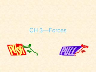 CH 3—Forces