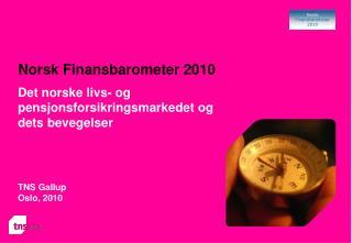 Norsk Finansbarometer 2010