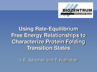 Using Rate-Equilibrium Free Energy Relationships to Characterize Protein Folding Transition States