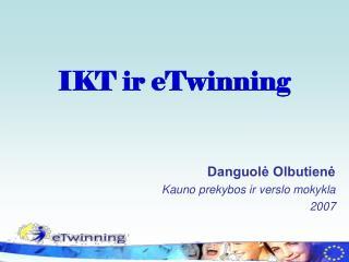 IKT ir eTwinning