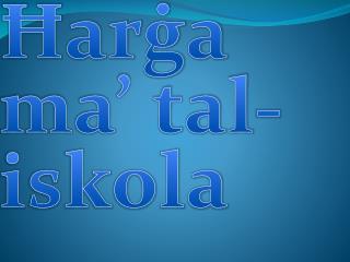 Ħarġa ma' tal-iskola