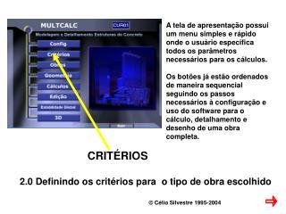 C lio Silvestre 1995-2004