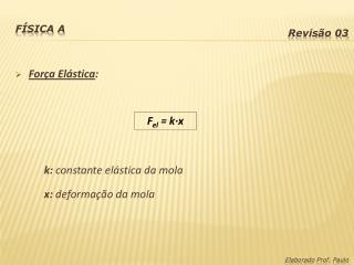 F�sica A