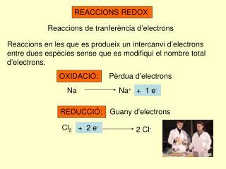 REACCIONS REDOX