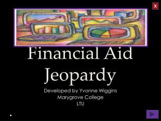 Financial Aid Jeopardy