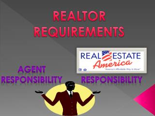 REALTOR REQUIREMENTS