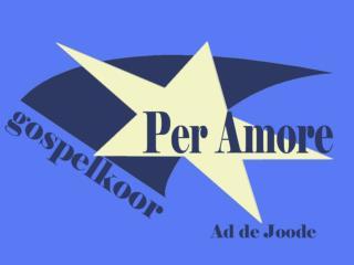 Foto's Per Amore 1998 -2008