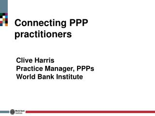 Connecting PPP practitioners
