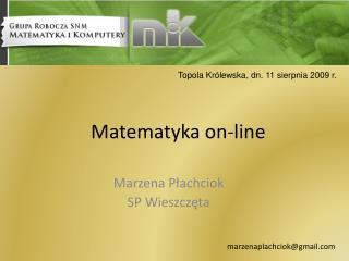 Matematyka on-line